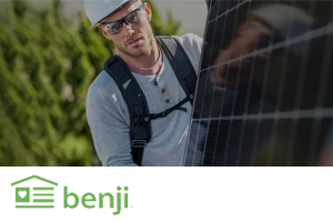 Benji financing for energy efficient upgrades through SolReliable in California