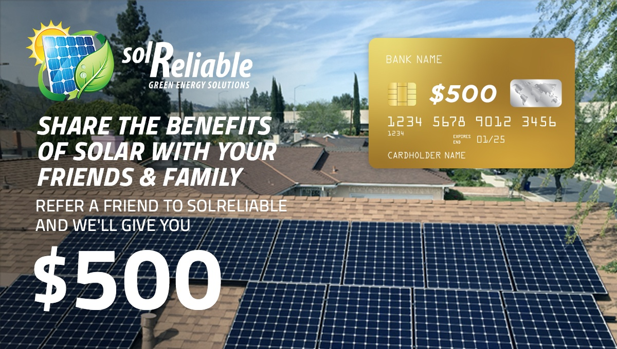 SolReliable Refer a Friend