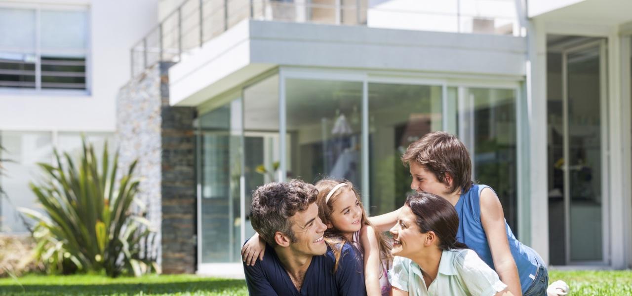 Energy Upgrades CA Happy Family