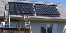 Solar Panel Setup