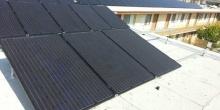 Solar Array Multi-Unit Building