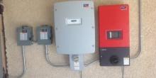 Solar Panel Power Meter