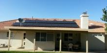 Solar Panels Green Grass
