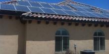 Solar Panels Tiled Roof