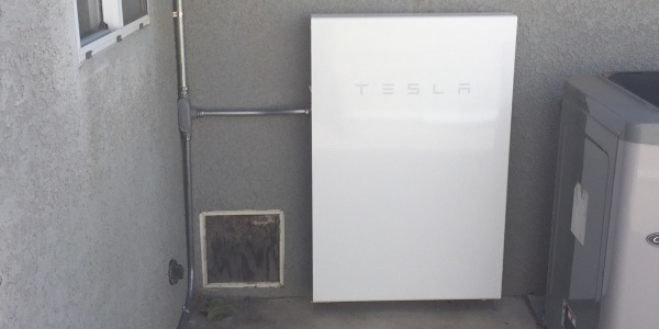 Tesla Powerwall 2 Battery installed by Sol Reliable