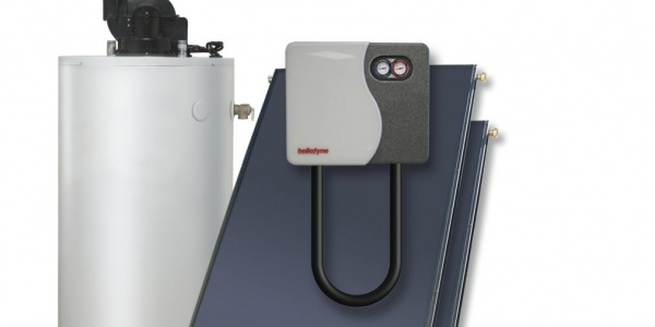 Solar hot water heater installed by Sol Reliable in California