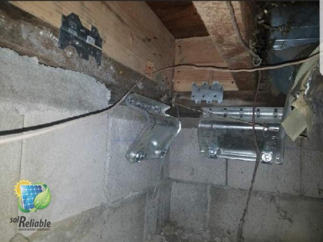 foundation retrofit and bolting, crest park, ca